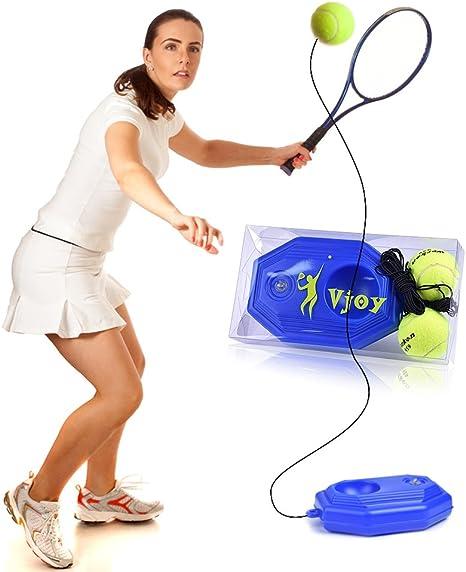 Pelota de tenis Trainer, VJOY tenis Base con una cuerda ...