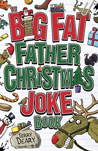 book cover of Big Fat Father Christmas Joke Book