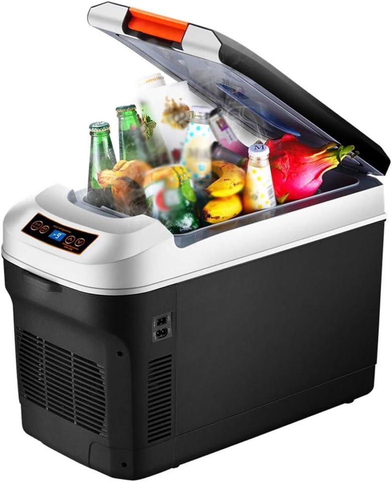 RUNHUAGAO Refrigerador de Autos de Doble Uso for el automóvil y el hogar, Mini Compartimiento pequeño de 12v / 24V for Camiones/Autos compartidos, Adecuado for Picnic al Aire Libre/Barbacoa Adecua