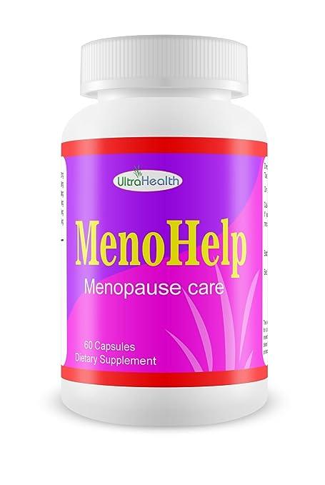 menohelp ultrahealth Menopausia 60 Pastillas