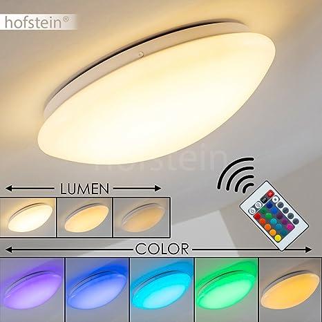 Lámpara de techo LED Zoar - 1x 30W LED alta eficiencia 3000K ...