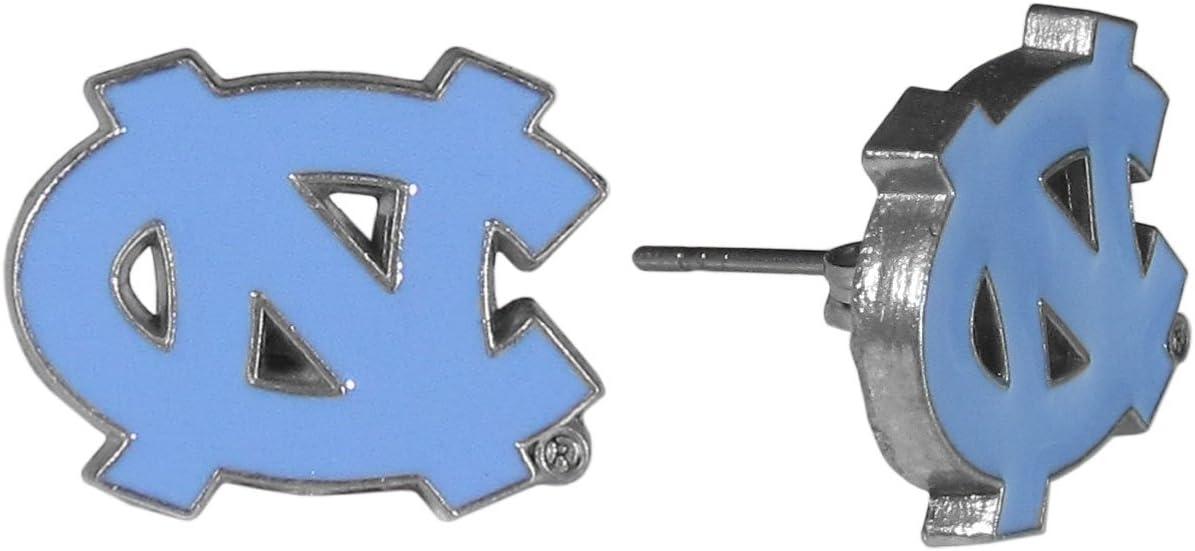 NCAA North Carolina Tar Heels Stud Earrings