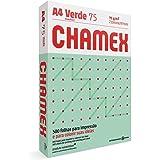Papel Chamex A4 75g Colors 500 Folhas Verde