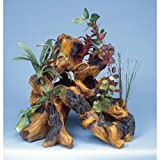 Penn Plax Super Driftwood Garden, Aquarium Ornament