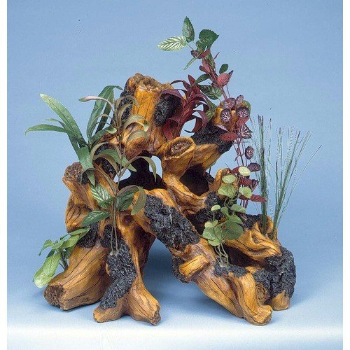 Penn Plax Super Driftwood Garden, Aquarium Ornament by Penn Plax