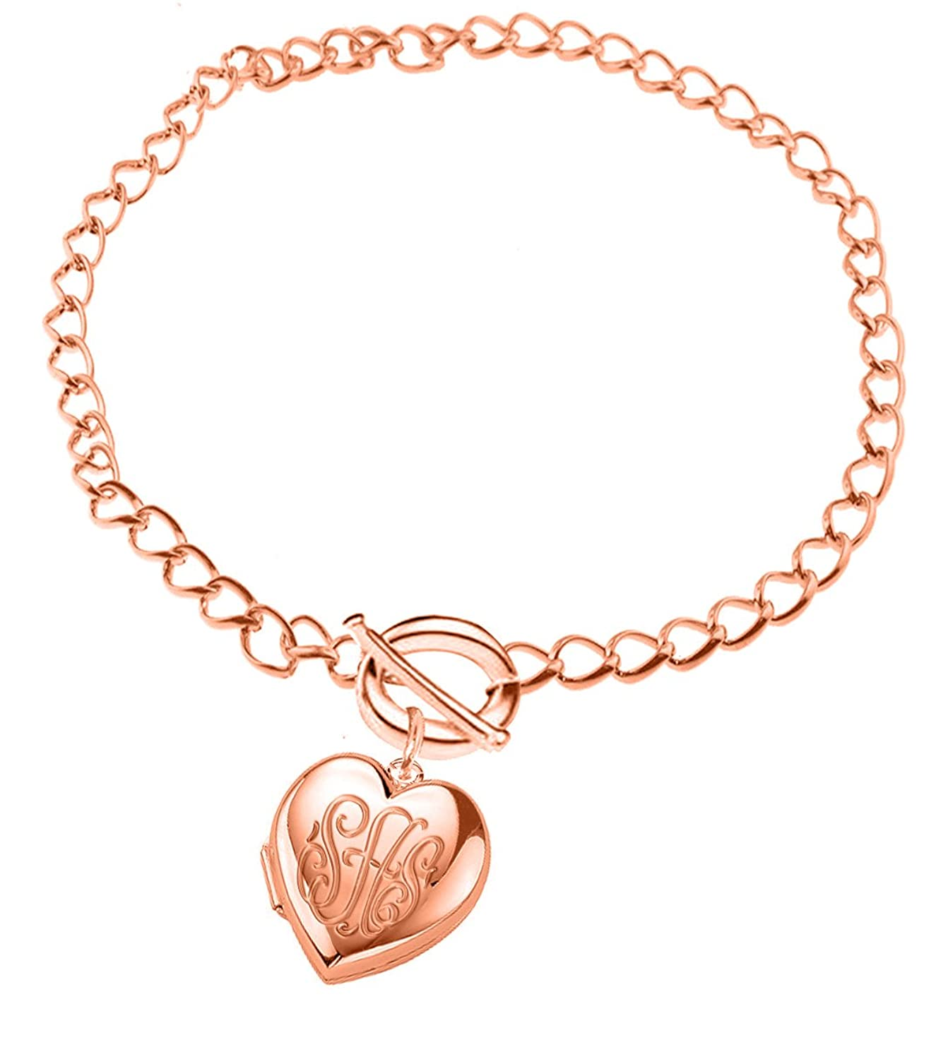 bracelet with locket snake ball erie basin chain