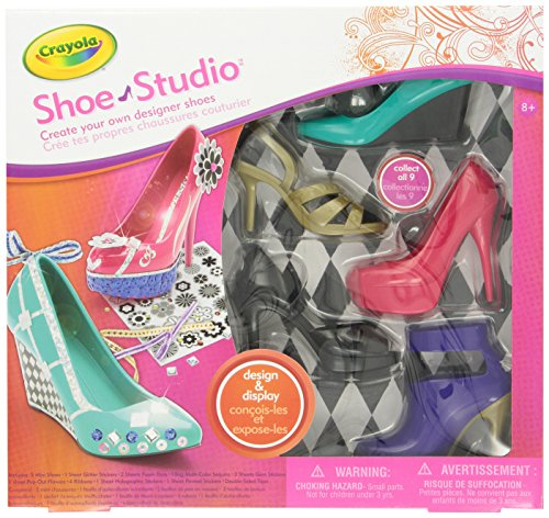 Crayola 04 4011 Shoe Studio