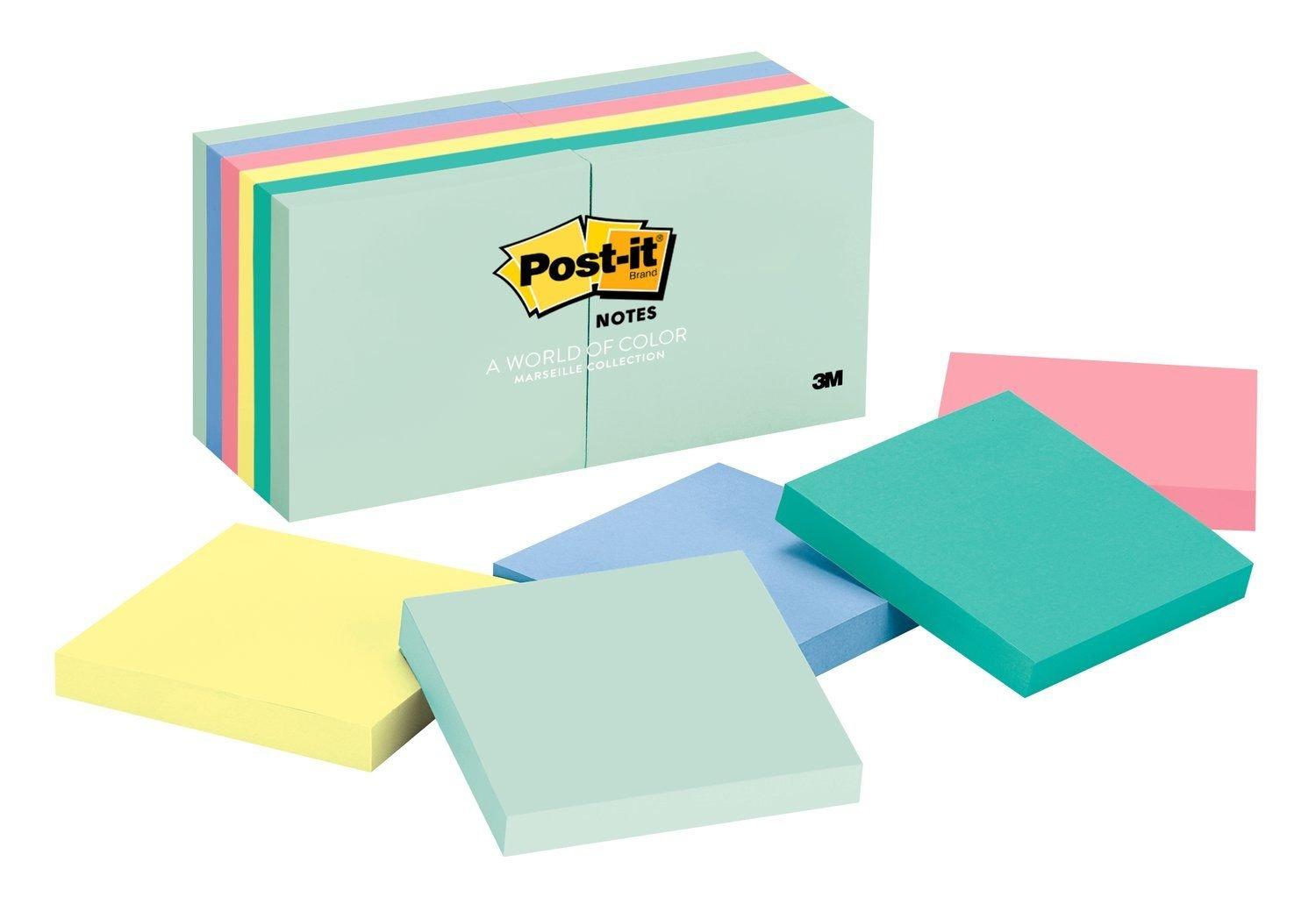 Amazon.com : Post-it Notes, America\'s #1 Favorite Sticky Note, 3 in ...