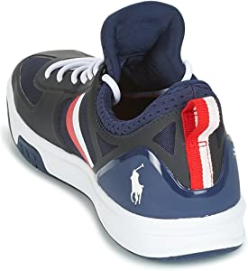 uk Lauren Court200 Men Polo Sk Sneakers Ralph Ath Navy co 40Amazon hrQdCtsxB