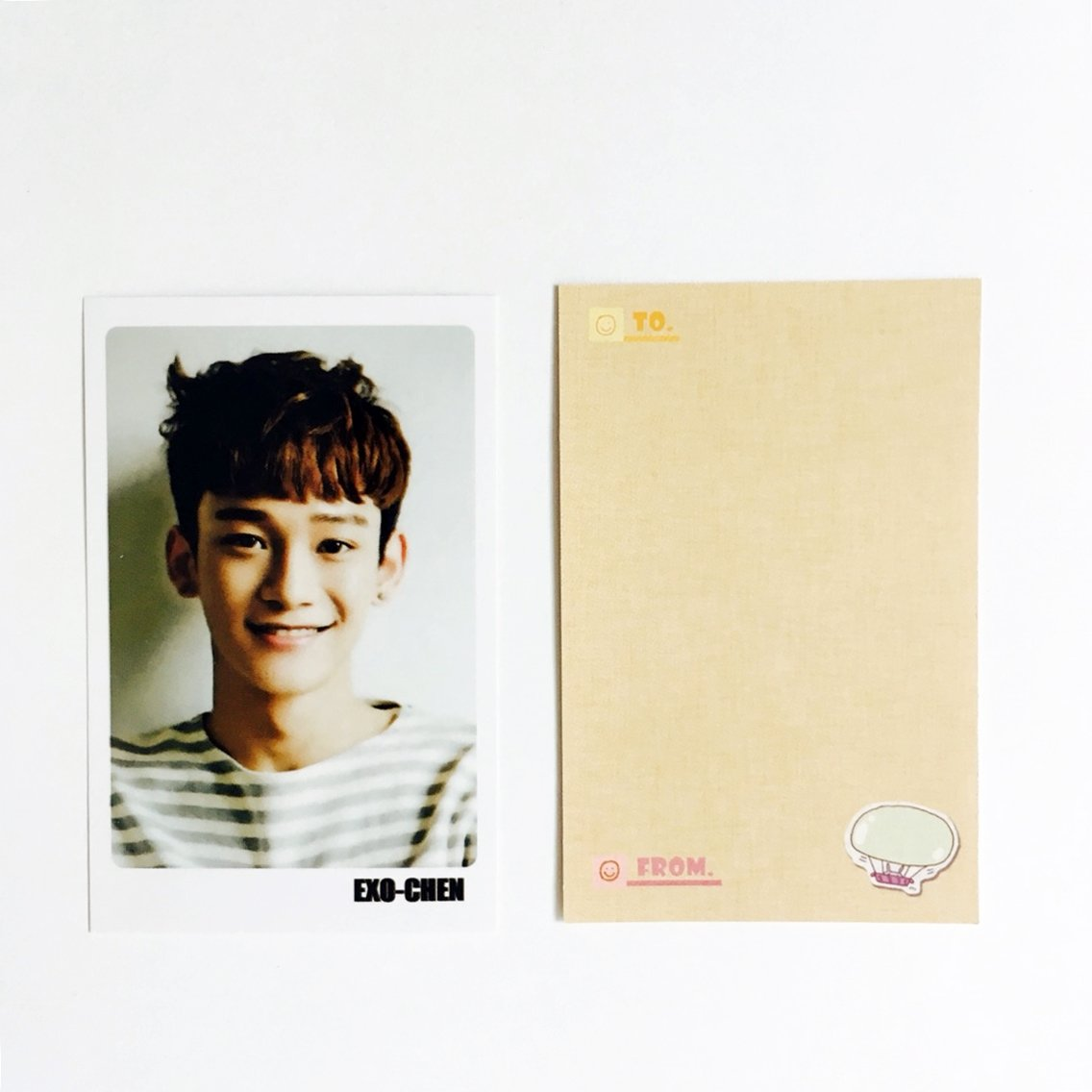 EXO CHEN Solo Photocards 56pcs