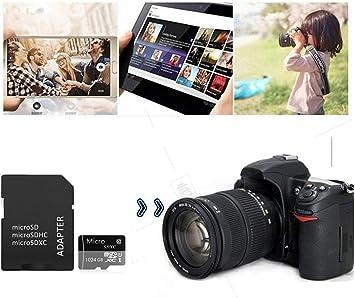 Genericca Tarjeta Micro SD de 32 GB de alta velocidad dise/ñada para smartphones Android tabletas Clase 10 SDXC con adaptador