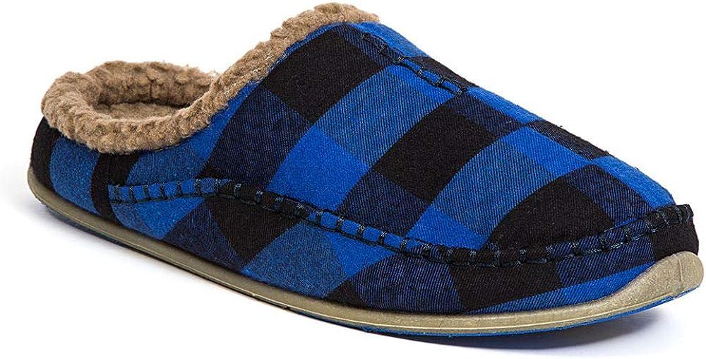 Deer Stags Slipperooz Mens Nordic S.U.P.R.O Sock Cushioned Indoor Outdoor Clog Slipper