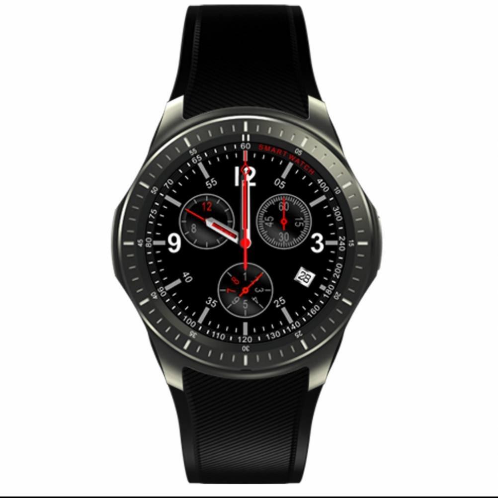 Sport Smart Watch Uhr Fitnessarmband Pulsmesser Mit Wifi GPS Browser Remote Kamera Sms Erinnerung Kompatibel Mit Android Handys Und IOS