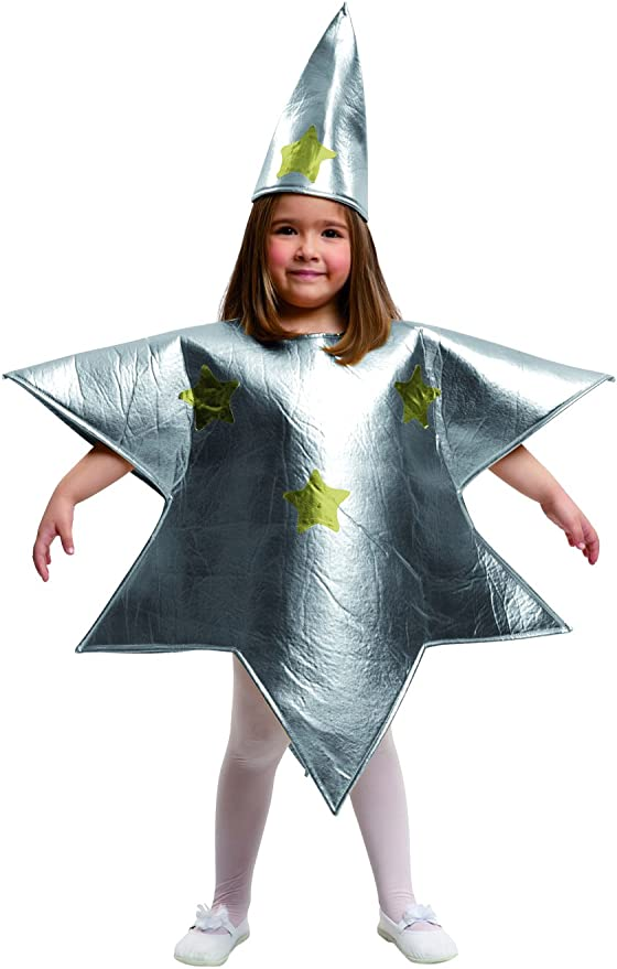 disfraz de una estrella