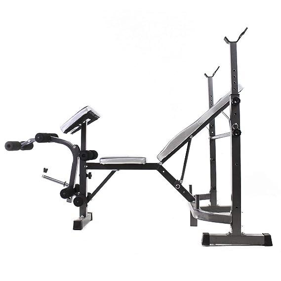 Riscko Banco de musculación multifunción, Banco de Pesas Fitness: Amazon.es: Deportes y aire libre