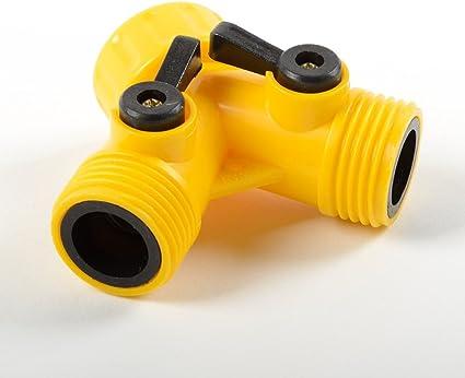 Y-distributor stop cock 20//25mm Step sleeve Connector Hose connector Hose