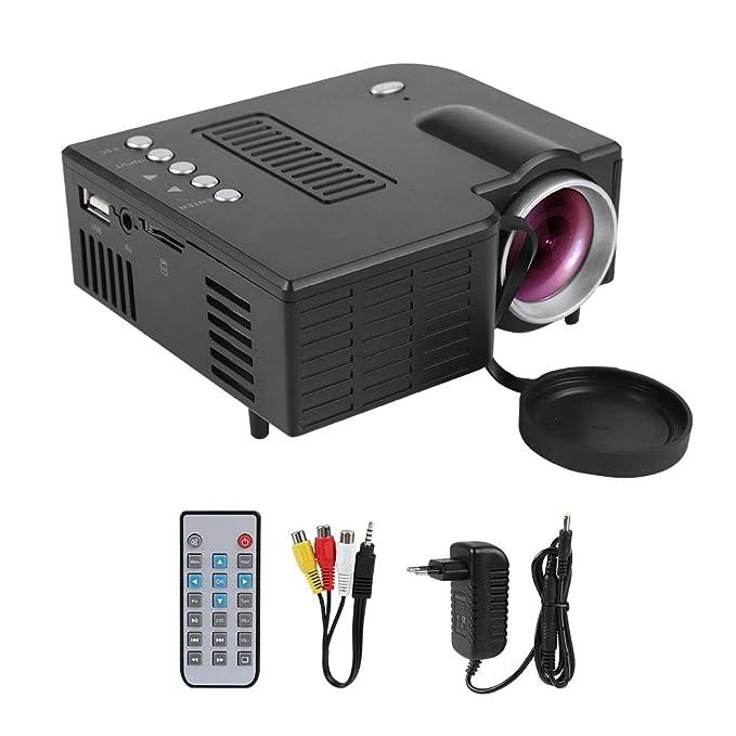 Mini proyector, proyector Multimedia portátil de Cine en casa LED ...