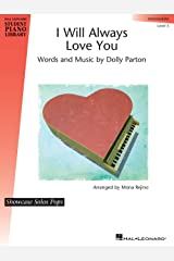 Hal Leonard I Will Always Love You Piano Library Series by Dolly Parton (Level Inter) Sheet music