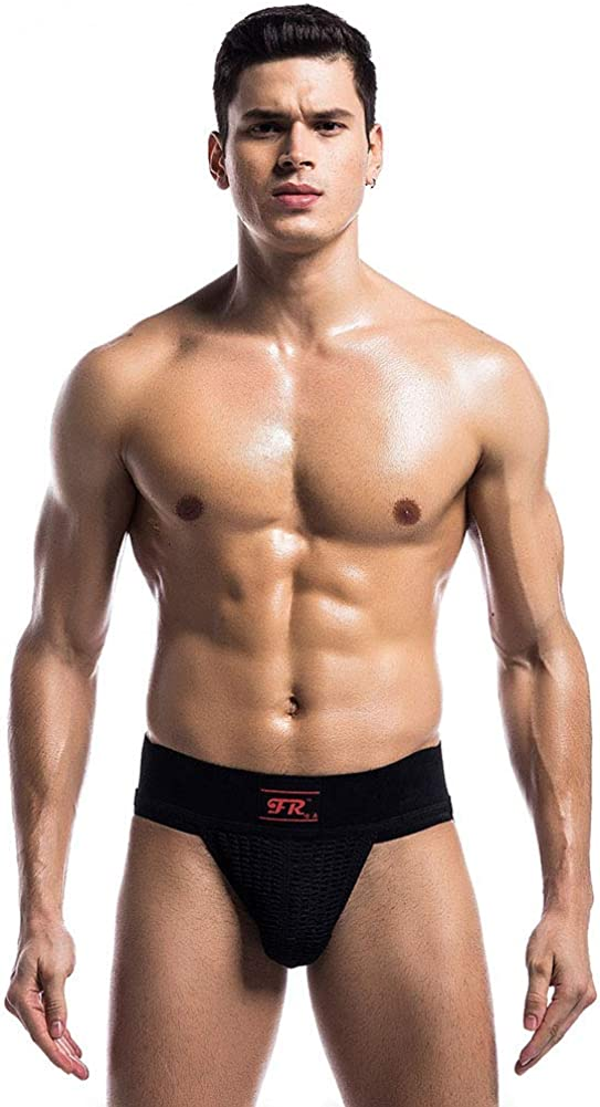 Mens Athletic Supporter Jockstrap Strip Waistband Sexy Swimwear Swimming Shorts Body Bikini Swimsuit Briefs