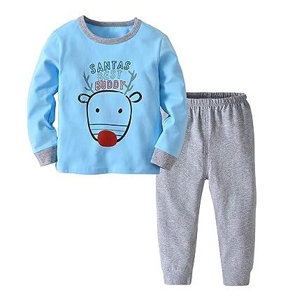 a23e05e03 Amazon.com  Little Kids Christmas Pajamas Sets
