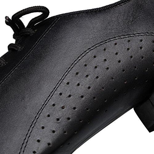 Minitoo , Herren Tanzschuhe , Schwarz - schwarz - Größe: 44