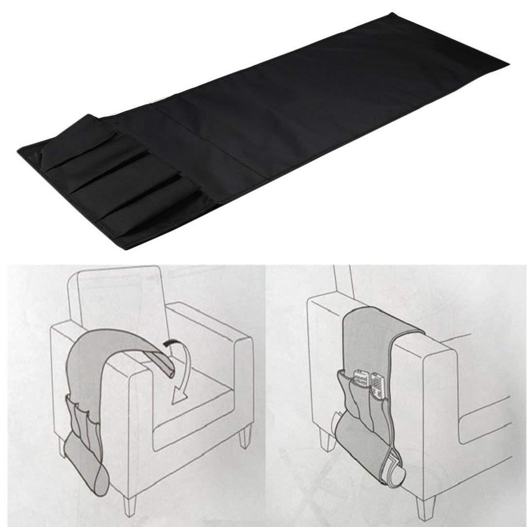 Bolsa de Almacenamiento Sof/á Sof/á Silla reposabrazos Caddy Organizador de Bolsillo Multibolsillos para M/óviles Libros del Controlador Remoto