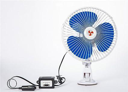 Alger Ventilador del Coche 12v Enfriamiento Potente Ventosa Soplo ...