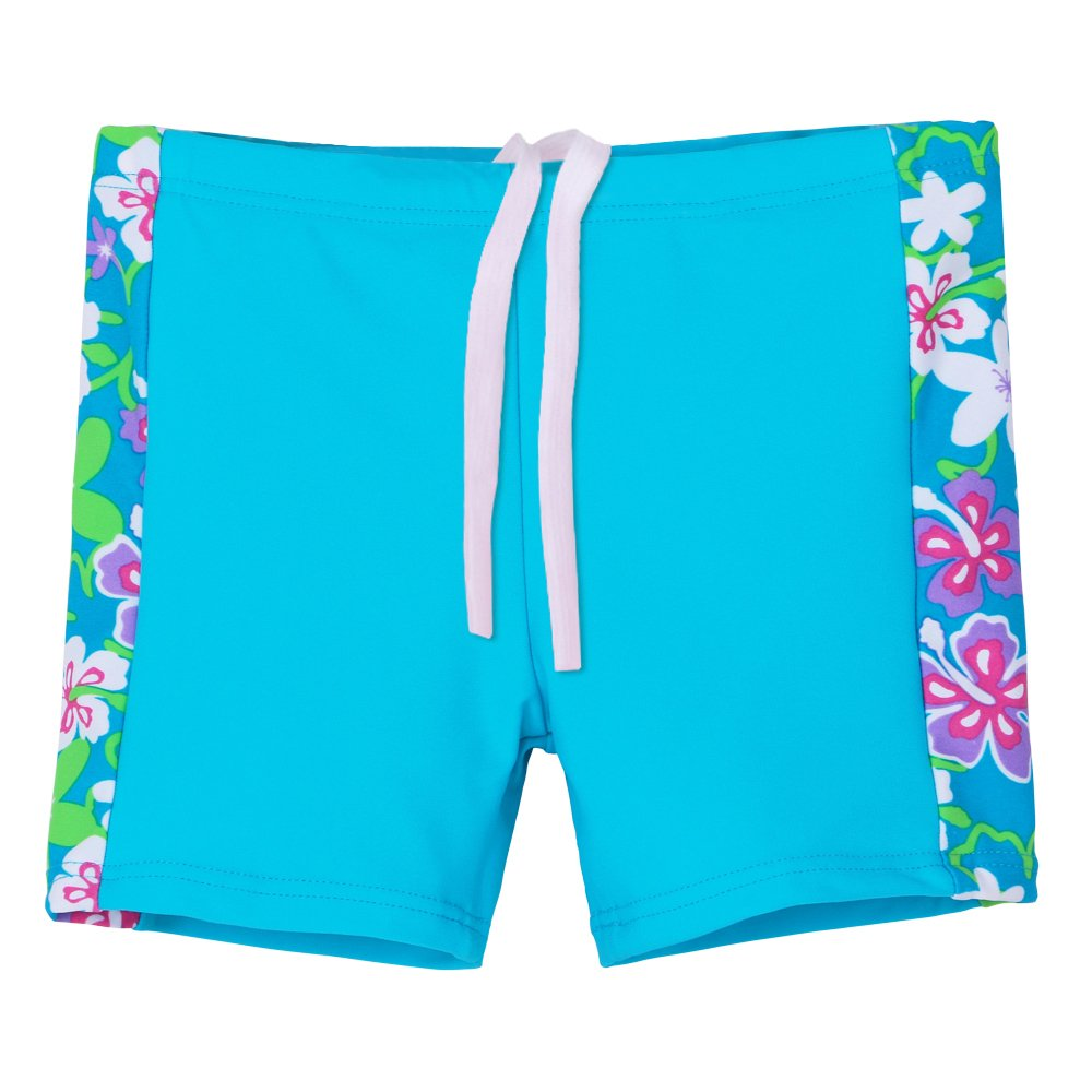 UV Swimsuit Rash Guard Suit 3-12 Years TFJH E Kids Girls Two Piece UPF 50
