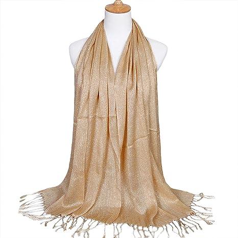online retailer 76caf e6820 BEAUTELICATE Donna Scialle Scialli Stola Chiffon Estivo ...