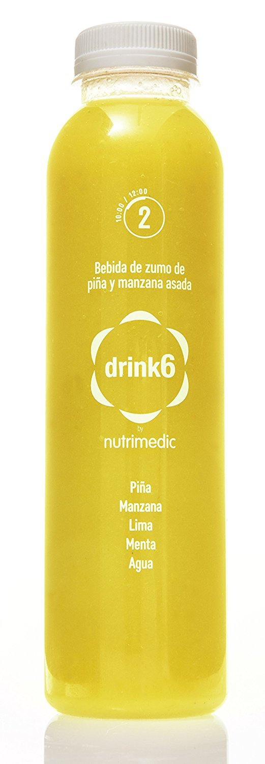 Plan detox zumos y cremas - 2 días - DRINK6: Amazon.es ...