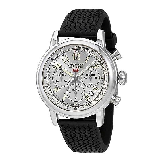 Chopard 168589-3001 Mille Miglia Cronógrafo Automático Plata Dial Reloj para Hombre: Amazon.es: Relojes
