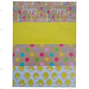8 sheets easter gift wrap happy easter gift spots chicks yellow 8 sheets easter gift wrap happy easter gift spots chicks yellow wrapping paper negle Image collections