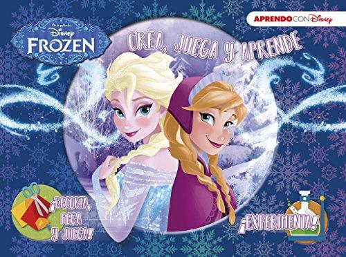 Frozen (Crea, juega y aprende con Disney)