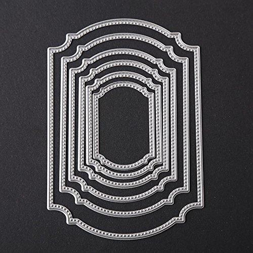 BigFamily Rectangle Set Cutting Dies Stencil DIY Scrapbook Tool Album Paper Card New Beauty Lovely Embossing Dec