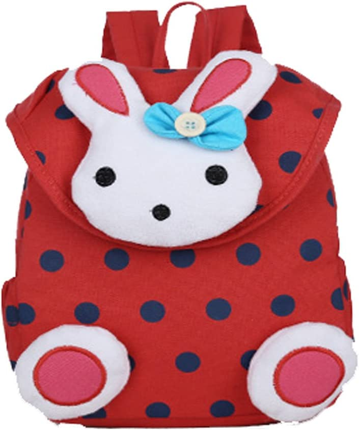 Donalworld Children Baby Toddler Child Kid Cartoon Rabbit Backpack Schoolbag Shoulder Bag Pattern4