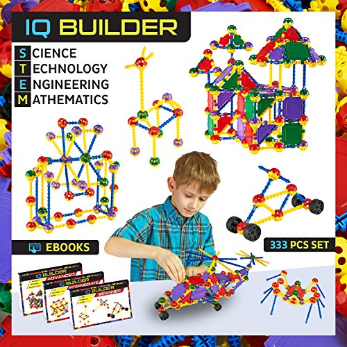 IQ BUILDER   STEM Learning Toys   Creative Construction ...