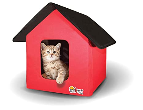 Fantastic Extreme Consumer Products 2019 New And Improved Collapsible Indoor Outdoor Pet Cat House Standard And Heated Download Free Architecture Designs Rallybritishbridgeorg