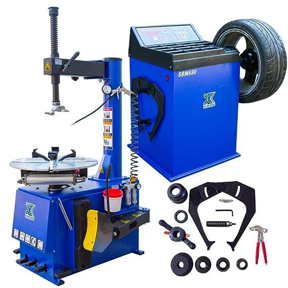 Amazon.com: Nueva máquina de 1.5HP Tire Changer Rueda ...