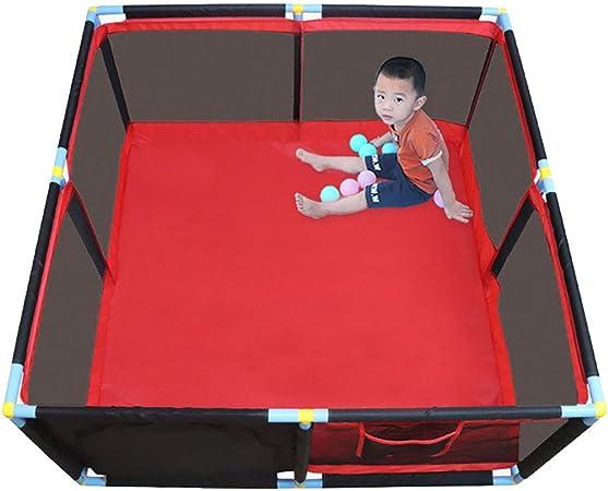 Parque Infantil Área de juegos con cercas para bebés, patio de juegos de seguridad para bebés
