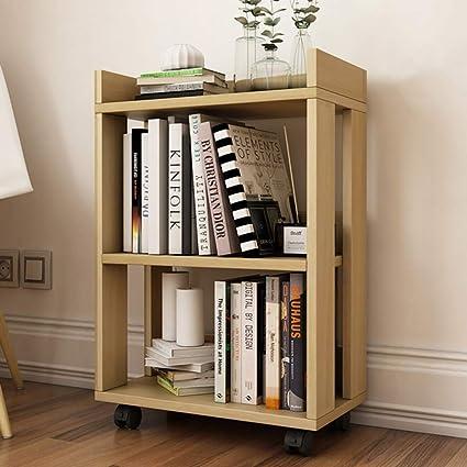 Amazon.com: PLLP Home Bedroom Bookcase Display Shelves ...