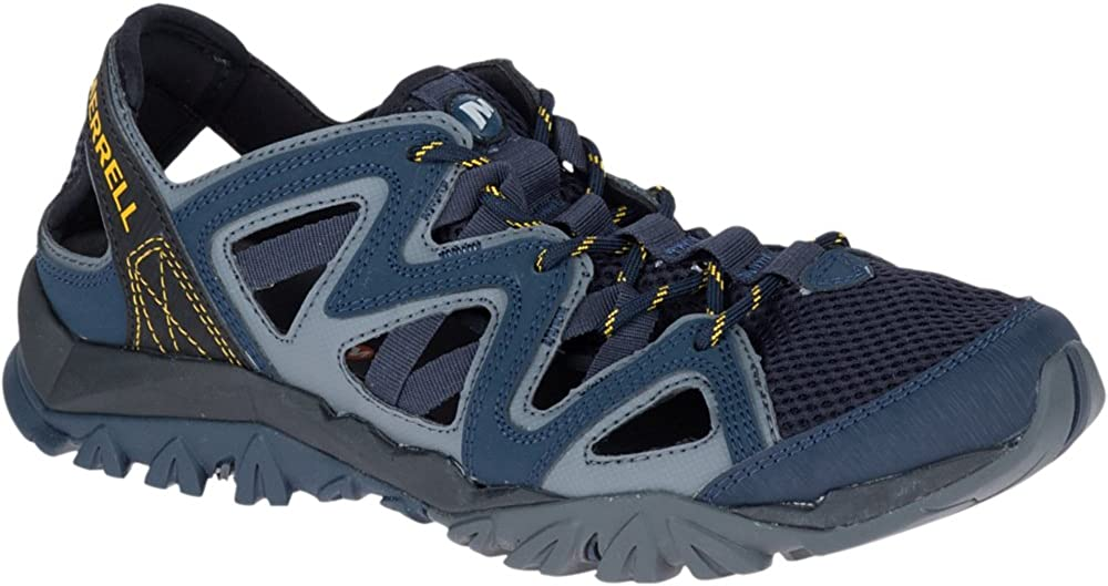 Merrell Men's Tetrex Crest Wrap Sport Sandal, Navy, 10.5 Medium US