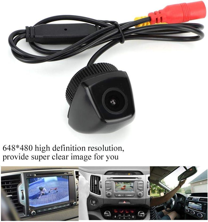 Hlyjoon Cam/éra de Recul Vue de Stationnement 170 /° Grand Angle HD PC7070K de V/éhicule Automobile Moniteur de Vision Arri/ère DC12V de Reverse Camera Visual Nocturne avec IP68 /Étanche pour X5 E53 E70