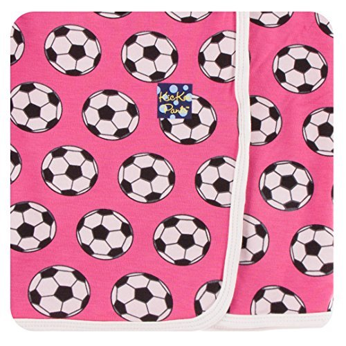 Kickee Pants Little Girls Print Swaddling Blanket -