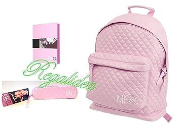 Greta Menchi MBG - Mochila escolar rosa 2017 - 2018 de ...