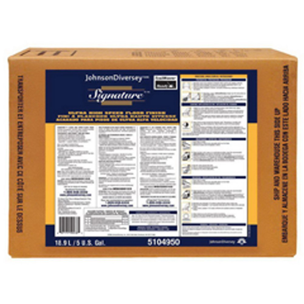 Diversey 5104950 Floor Finish, 5 gal, 30 to 45 min.