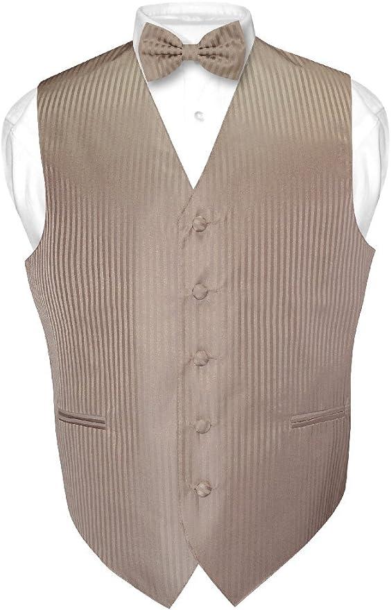 Espresso Brown Tuxedo Vest Set