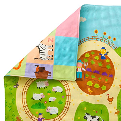 Baby Care Play Mat (Medium, Busy Farm)
