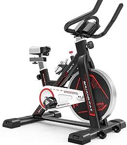 AMBM Bicicleta Estática de Spinning, Ajustable Resistencia ...