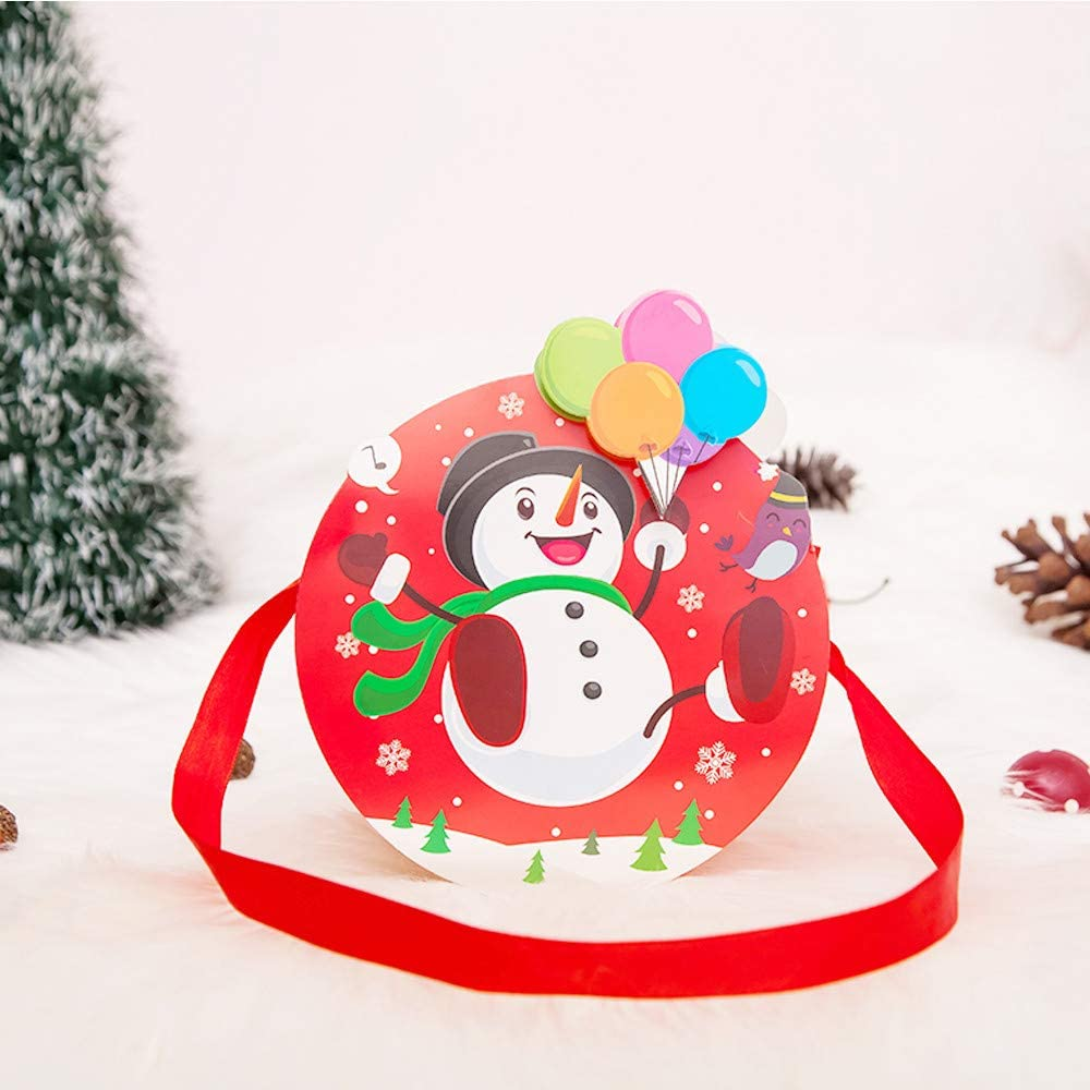 1000 Large White Christmas Xmas Winter Snowman Plastic Shopping Carrier Bags