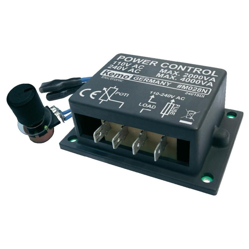 Kemo M028N Power Control 110-240 V/AC, 4000 VA Module Kemo Electronic